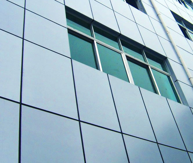 Aluminum Wall Cladding : Acp detailing services
