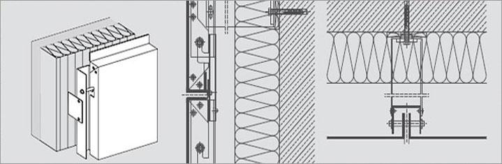 Aluminium Composite Panel Cladding Details : Acp detailing services