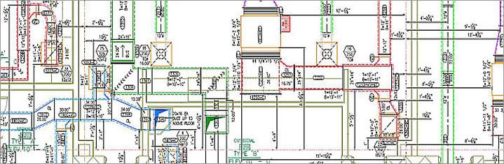 Mep Shop Drawings Mep Hvac Services