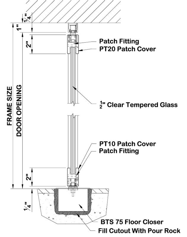 facade patch fitting