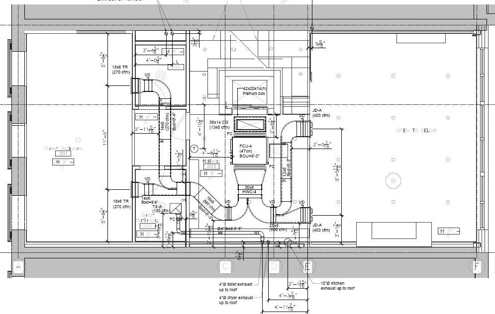 mep/hvac, revit bim, building, bim sample