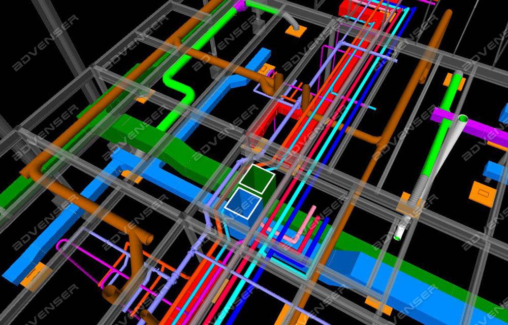 Mep Coordination Services Clash Detection Bim