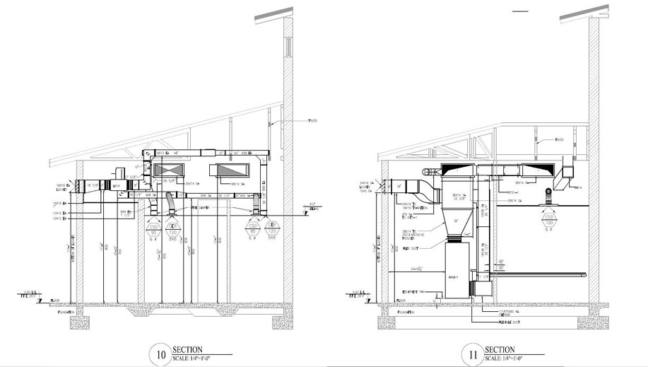 mep fabrication drawings
