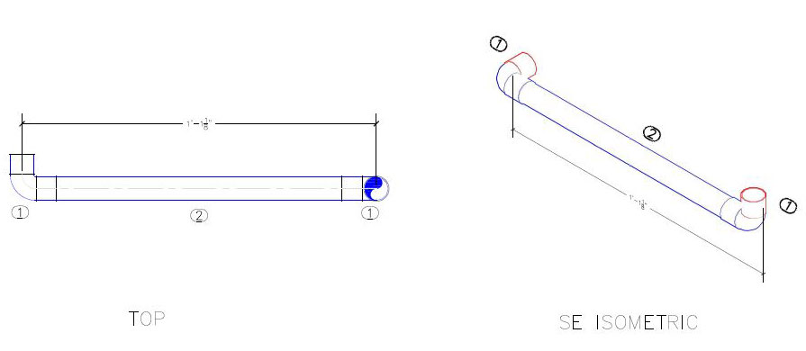 pipe spool drawing