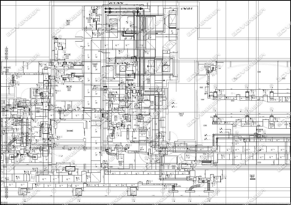 Hvac Drawing Details Wiring Library Duct In Autocad Mep Shop Drawings