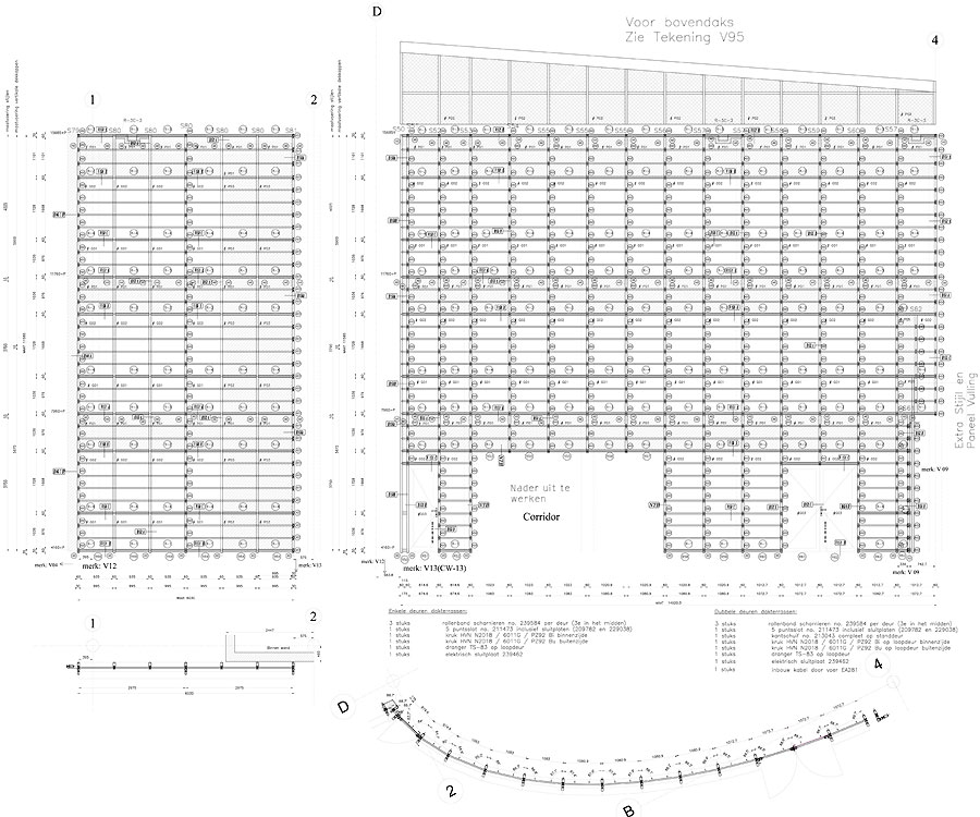 Facade Shop Fabrication Drawings