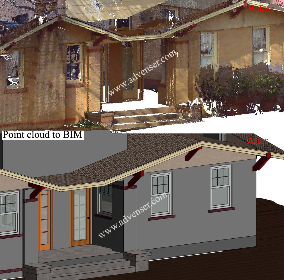 Point Cloud to Revit Conversion